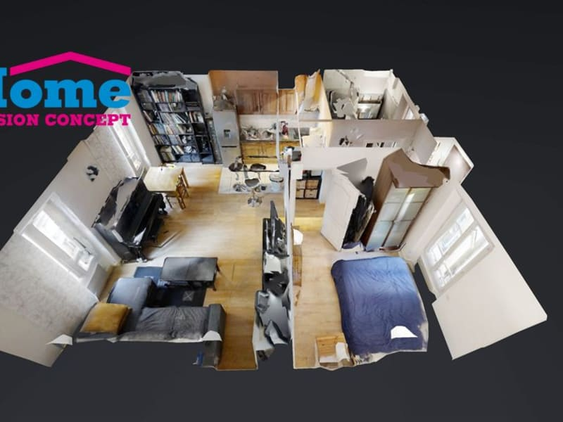 Vente appartement Asnieres sur seine 335000€ - Photo 2