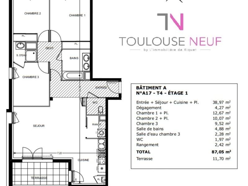 Vente appartement L'union 334900€ - Photo 4