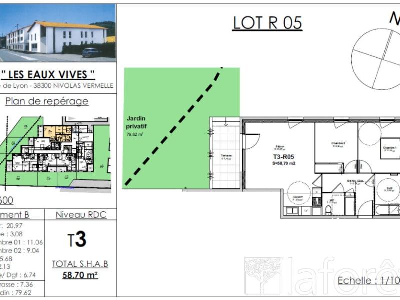 Sale apartment Bourgoin jallieu 192754€ - Picture 2
