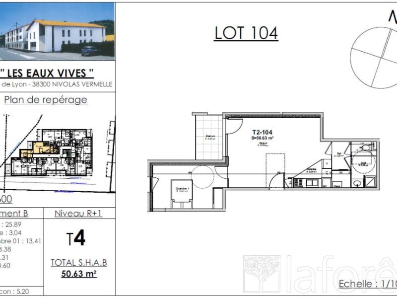 Sale apartment Bourgoin jallieu 164481€ - Picture 2