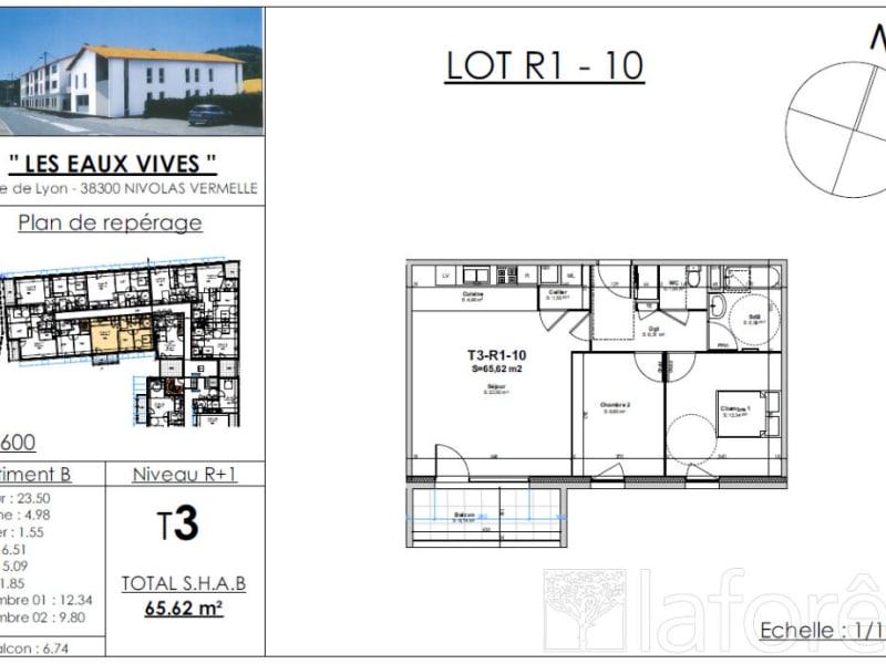 Sale apartment Nivolas vermelle 213179€ - Picture 2
