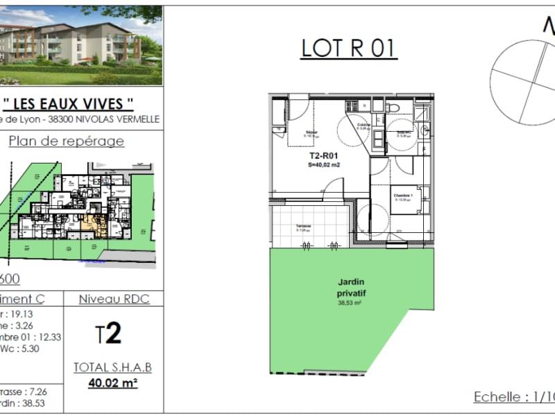 Sale apartment Bourgoin jallieu 134879€ - Picture 2