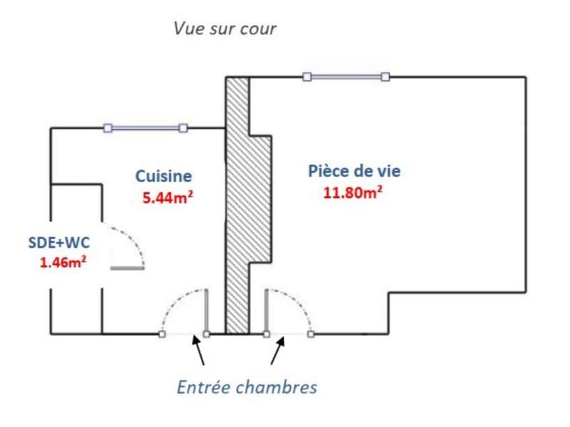 Vente appartement Paris 14ème 240000€ - Photo 10
