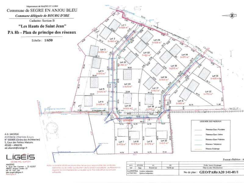 Vente terrain Segre en anjou bleu 49000€ - Photo 3