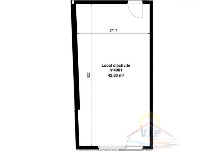 Vente local commercial Paimboeuf 61924€ - Photo 2