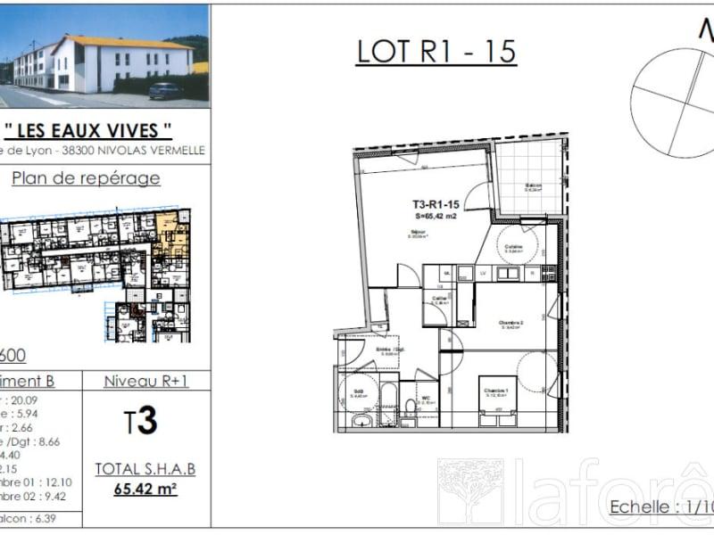 Sale apartment Nivolas vermelle 212020€ - Picture 2
