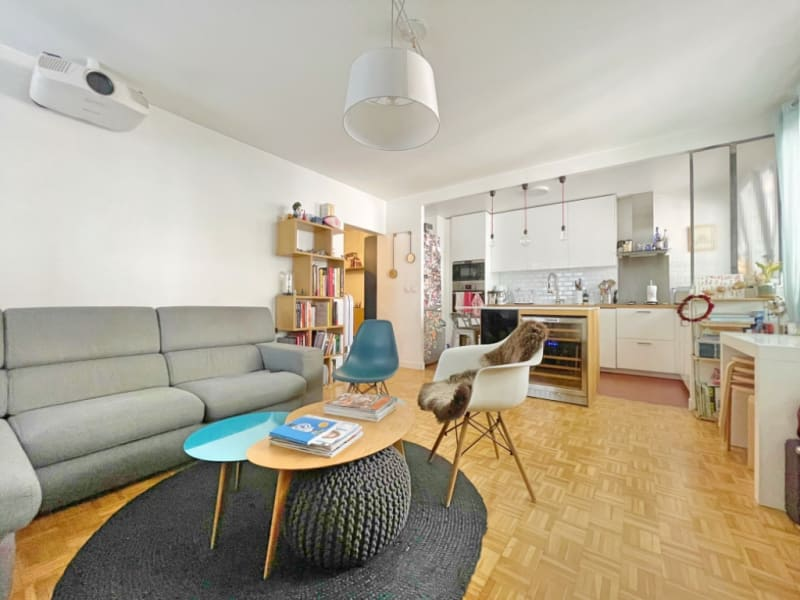 Vente appartement Paris 20ème 575000€ - Photo 2