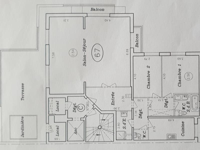 Vente appartement Neuilly sur seine 2080000€ - Photo 14