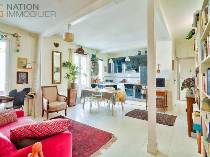Verkauf wohnung Paris 20ème 610000€ - Fotografie 3