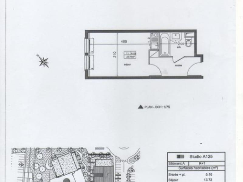Vendita appartamento Cornebarrieu 39000€ - Fotografia 1