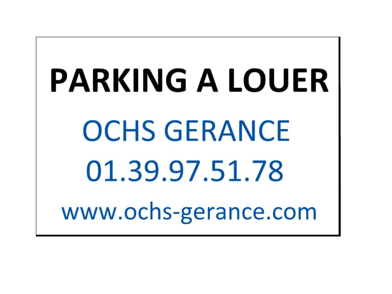 Location parking Pierrelaye 55€ CC - Photo 1
