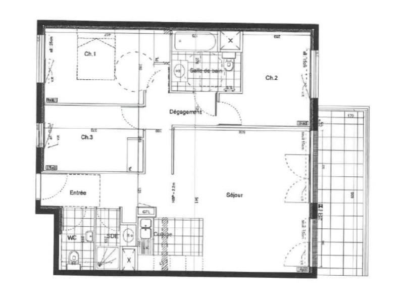 Vente appartement Clamart 598000€ - Photo 2