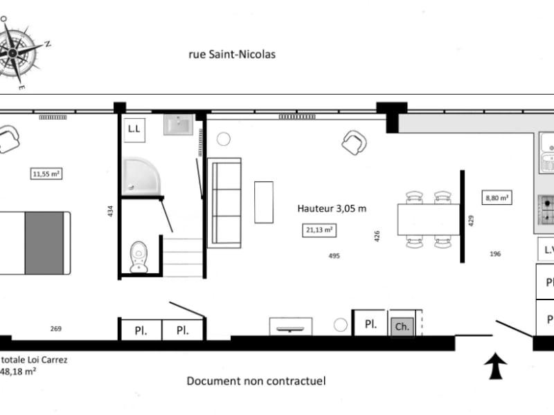 Vente appartement Paris 12ème 580000€ - Photo 2