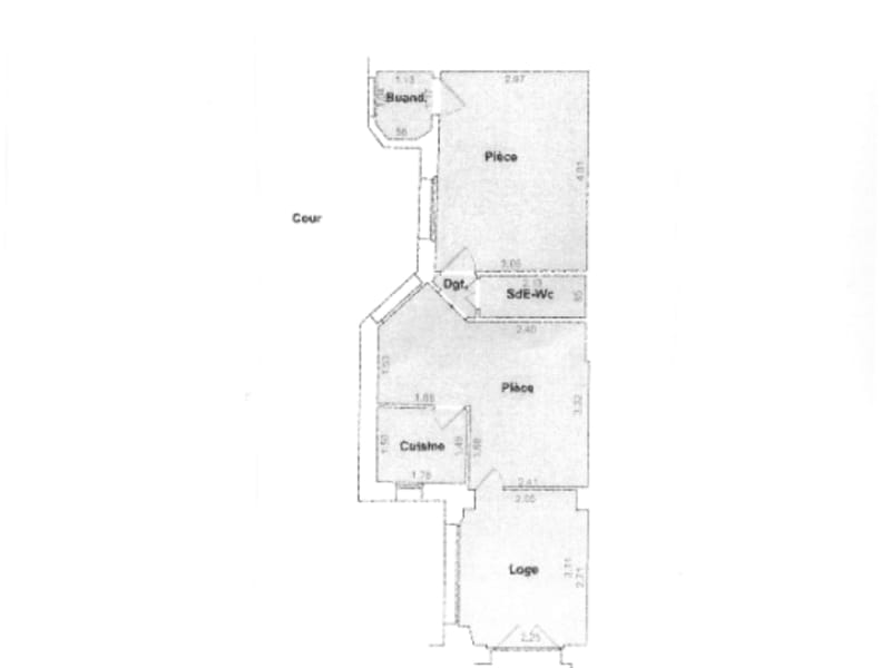 Sale apartment Neuilly sur seine 382000€ - Picture 1