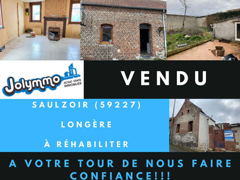 Vente maison / villa Saulzoir 40000€ - Photo 1