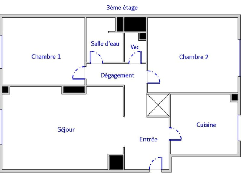 Venta  apartamento Boulogne billancourt 449000€ - Fotografía 9