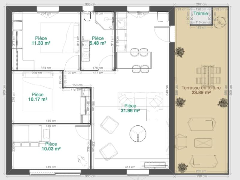 Vente appartement Cenon 241500€ - Photo 9