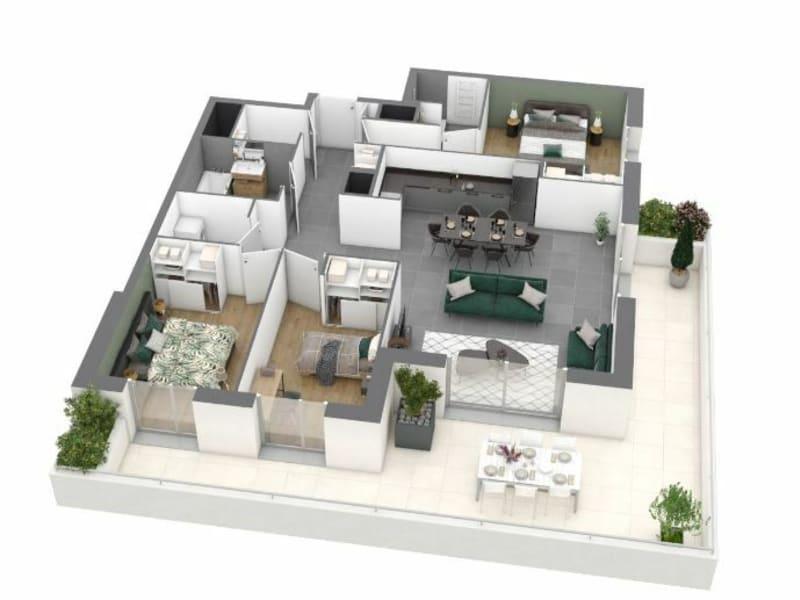 Sale apartment Meylan 318000€ - Picture 3