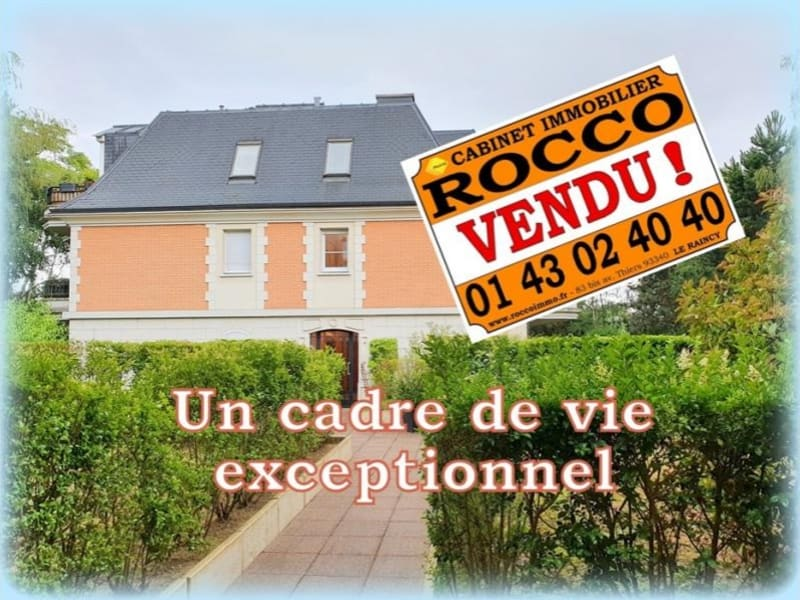 Vente appartement Le raincy 450000€ - Photo 1