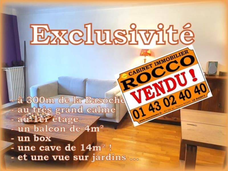 Vente appartement Les pavillons sous bois 209000€ - Photo 1
