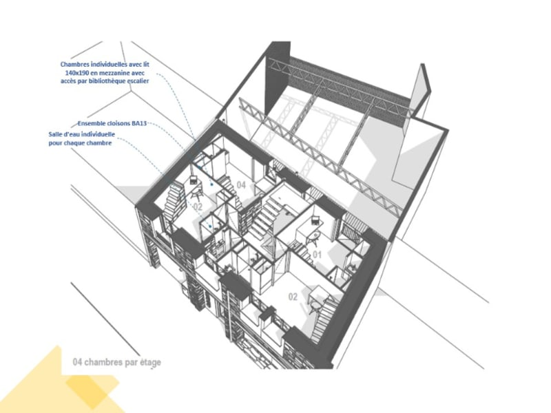 Vente immeuble Angers 1260000€ - Photo 2