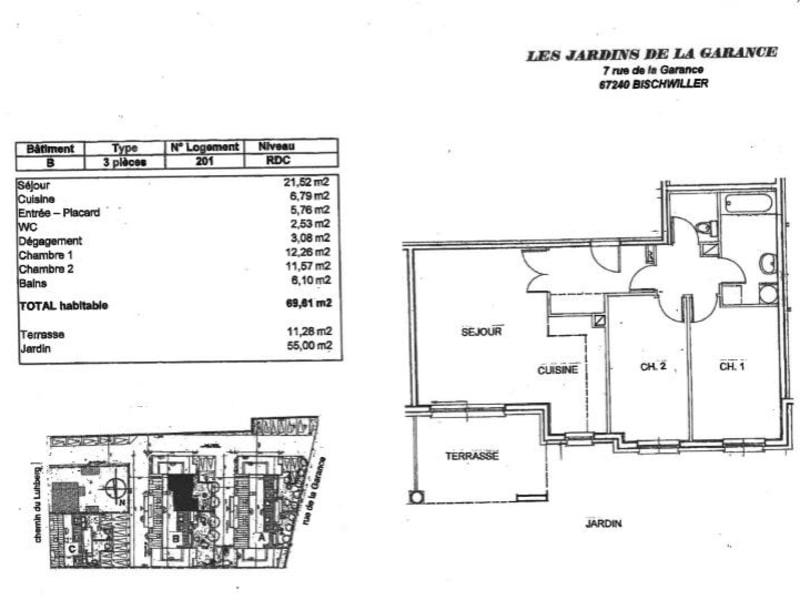 Vente appartement Bischwiller 170000€ - Photo 2