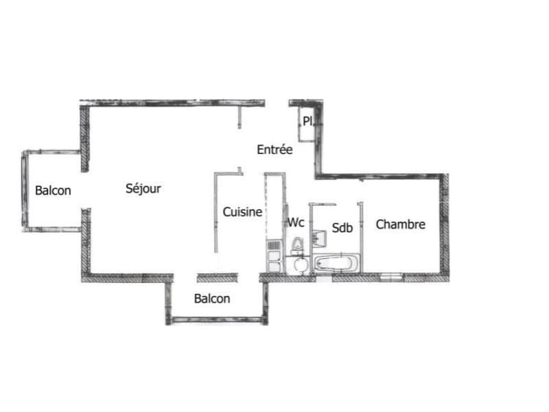 Vente appartement Lingolsheim 193000€ - Photo 9