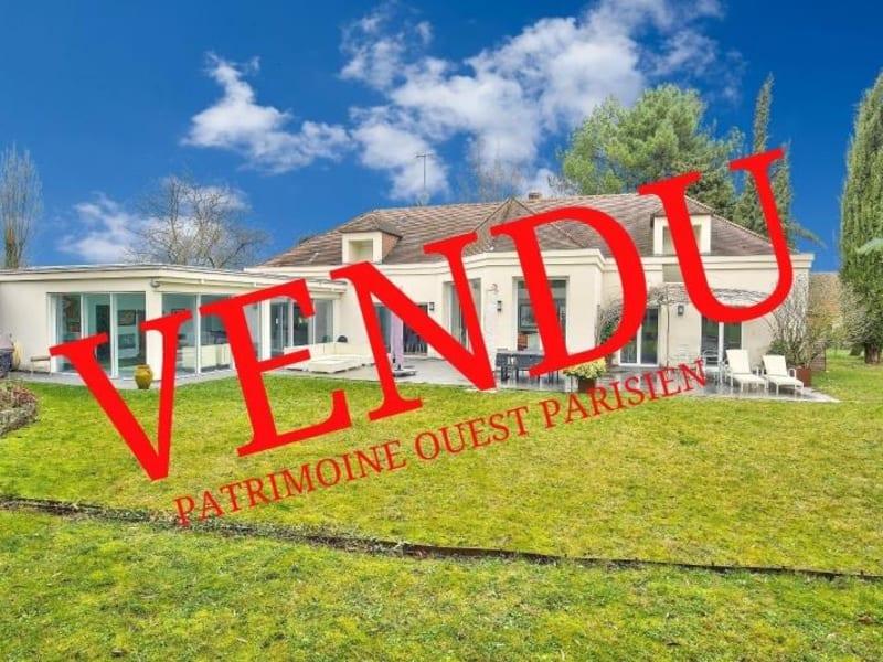 Sale house / villa St nom la breteche 1800000€ - Picture 1
