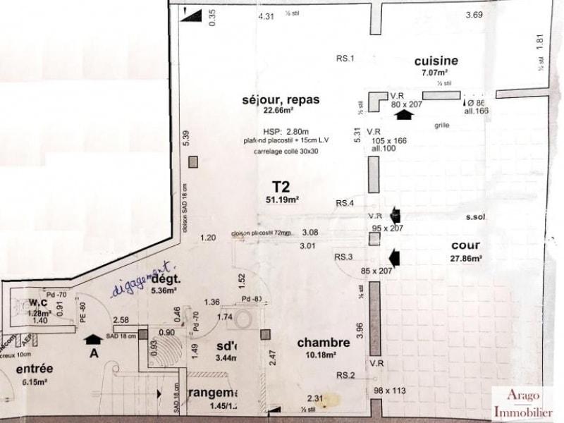 Sale apartment Perpignan 138200€ - Picture 8