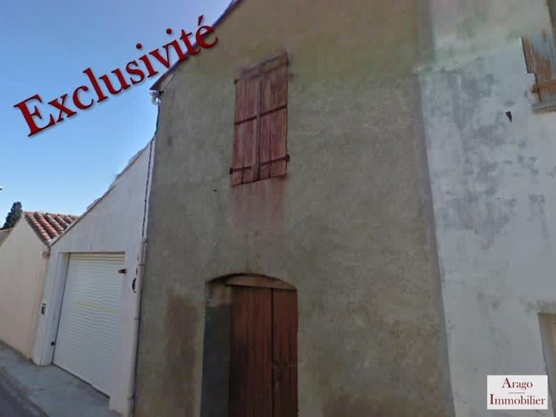 Sale house / villa Rivesaltes 39400€ - Picture 1