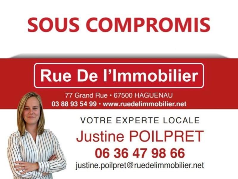 Vente appartement Bouxwiller 116800€ - Photo 1
