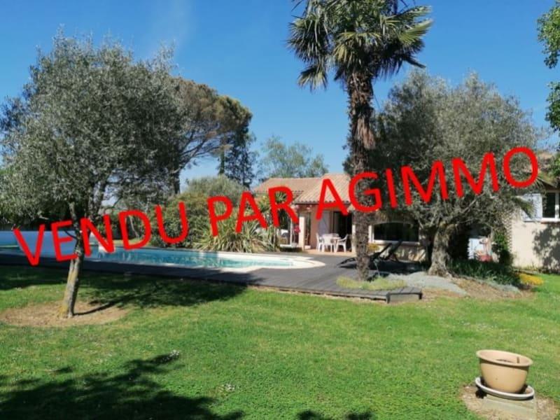 Sale house / villa Leguevin 418000€ - Picture 1