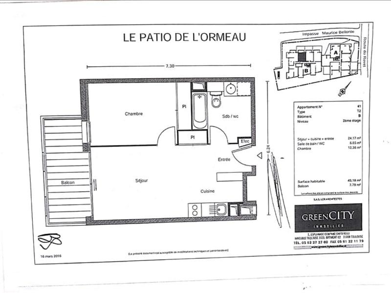 Rental apartment Toulouse 604,42€ CC - Picture 7
