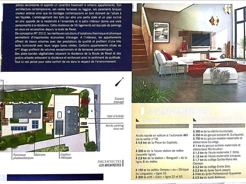 Rental apartment Toulouse 604,42€ CC - Picture 8