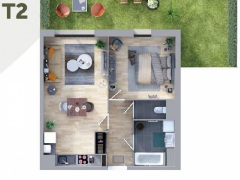 Vente appartement Nieppe 162000€ - Photo 2