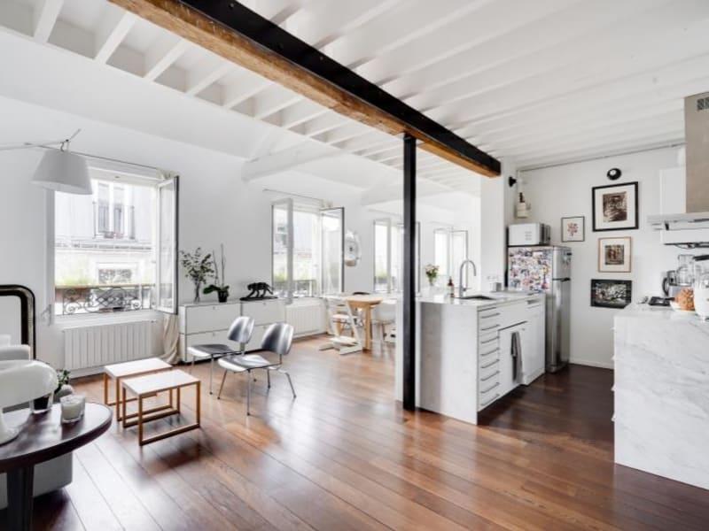 Deluxe sale apartment Paris 10ème 1050000€ - Picture 3