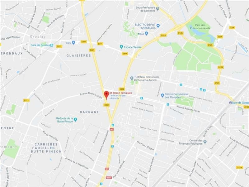 Location bureau Sarcelles 250€ HC - Photo 1