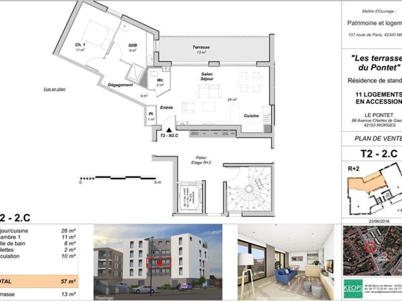 Vente neuf appartement Riorges  - Photo 5