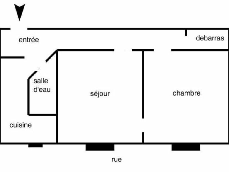 Location appartement Levallois perret 1000€ CC - Photo 4