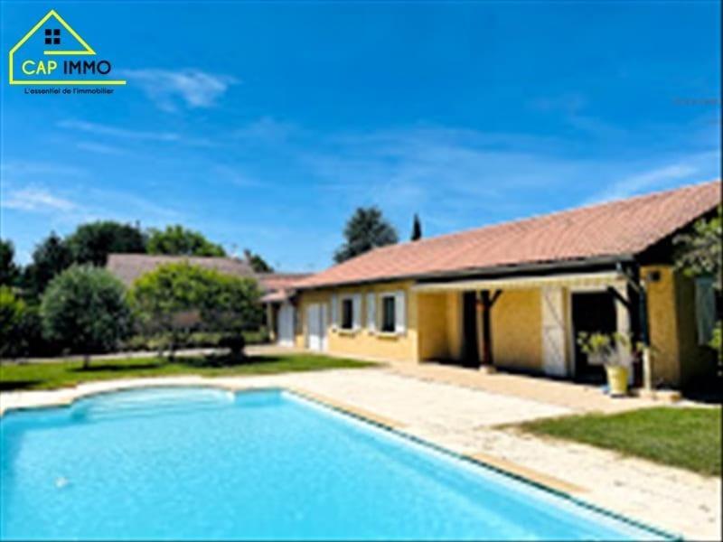 Sale house / villa Jonage 495000€ - Picture 1