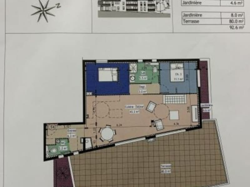 Sale apartment Gap 360000€ - Picture 1