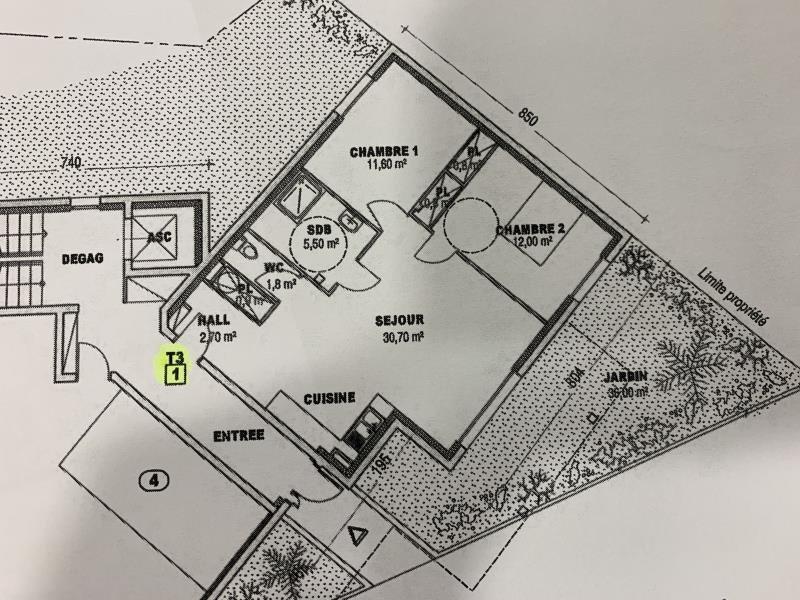 Vente appartement Gap 232000€ - Photo 1