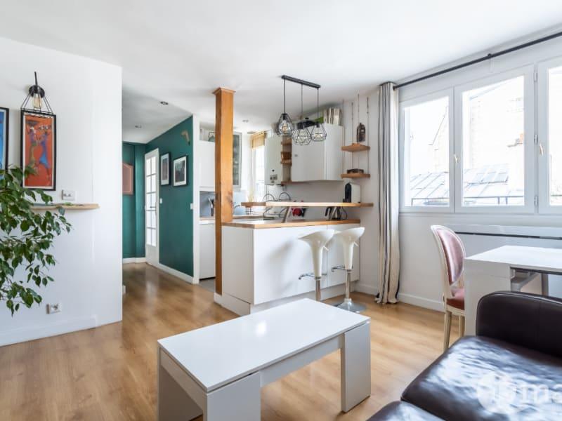 Sale apartment Paris 17ème 384000€ - Picture 2