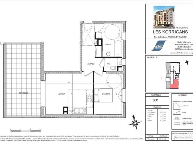 New home sale building St nazaire  - Picture 6