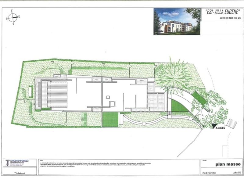 New home sale building St marc sur mer  - Picture 2