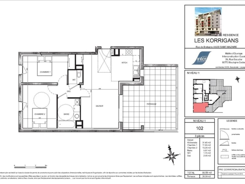 New home sale apartment St nazaire  - Picture 3