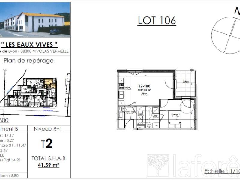 Sale apartment Nivolas vermelle 137474€ - Picture 2