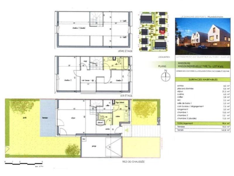 Vente appartement Mundolsheim 397000€ - Photo 1