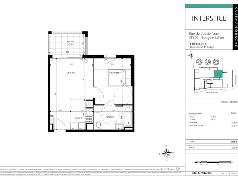 Vente appartement Bourgoin jallieu 182000€ - Photo 3