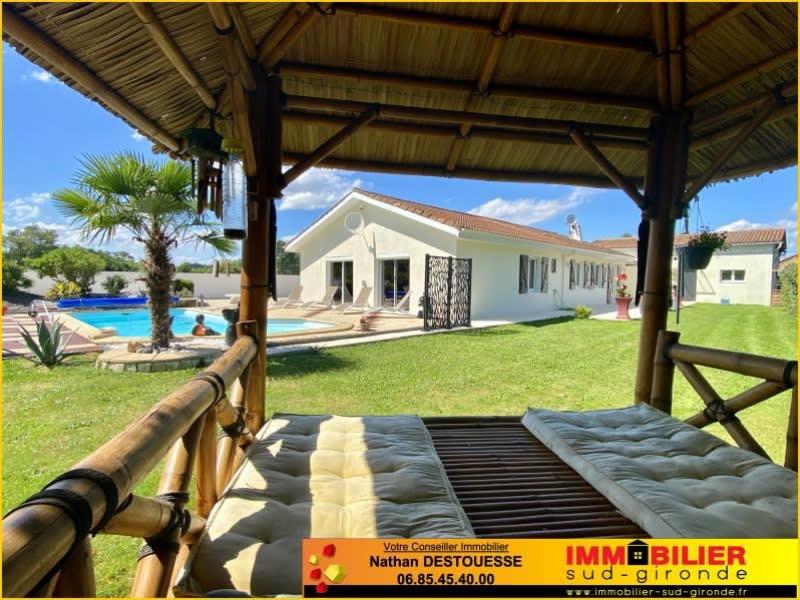 Sale house / villa St michel de rieufret 449000€ - Picture 1